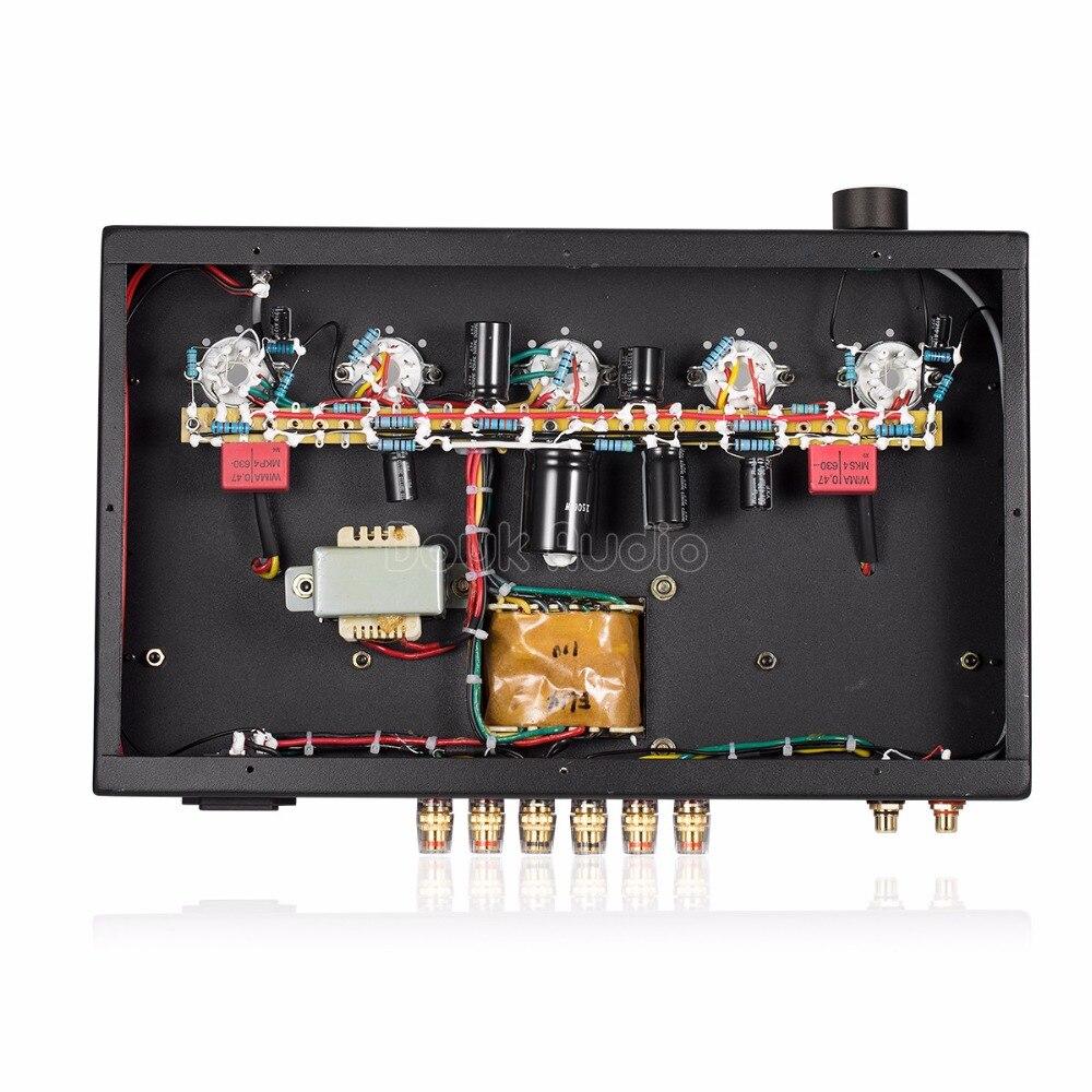 Douk audio Updated 6N9P Push EL34 Valve Tube Amplifier Pure Handmade Scaffolding Hi Fi Stereo Class A Power AMP - 3