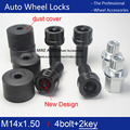 4Bolts+2keys For VW Golf Jetta Beetle Sagitar Magotan Passat Wheel Lock  Bolt  Anti-sheft nut
