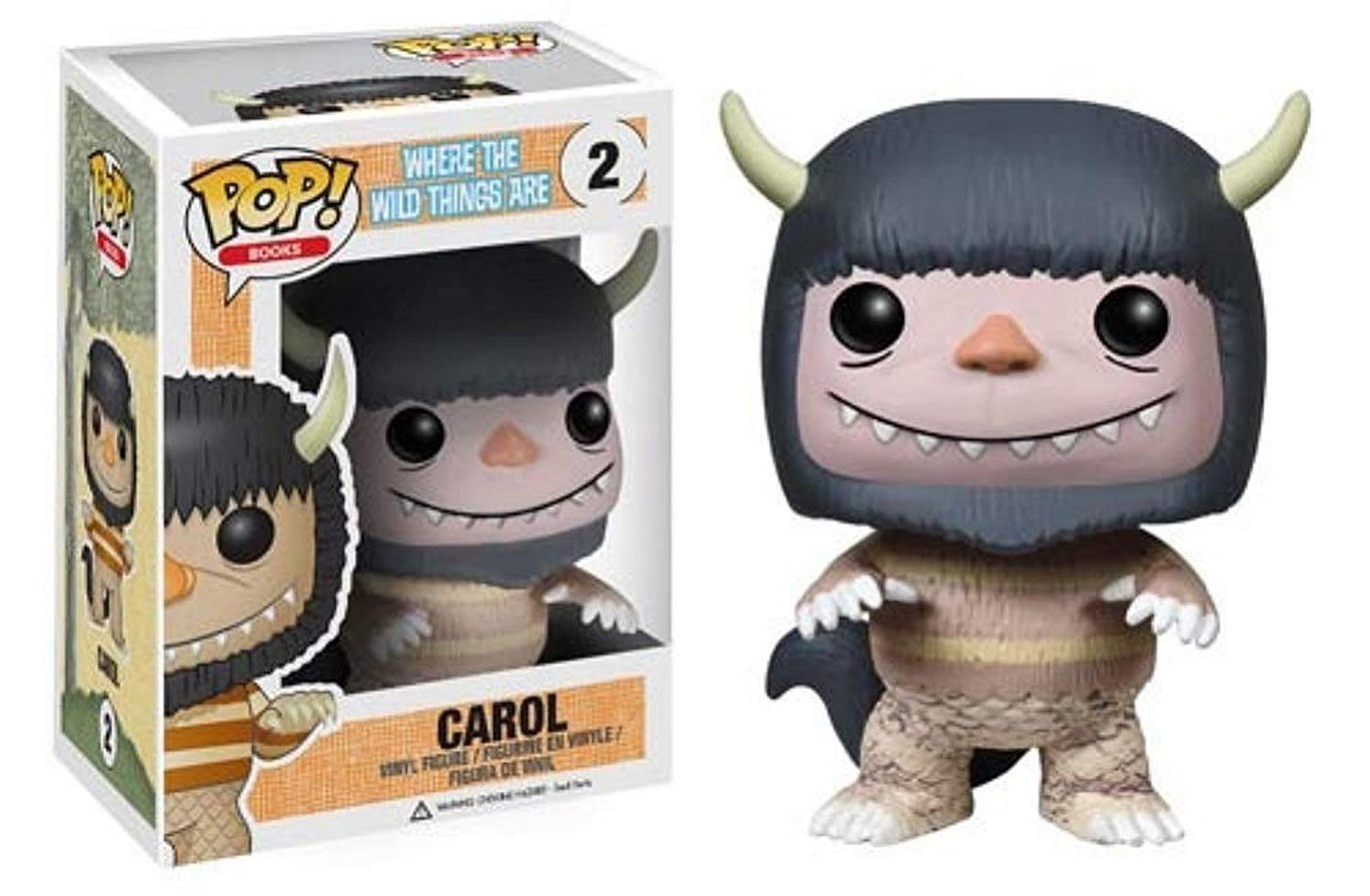 Funko pop Official Books: Where The Wild Things Are - Carol Vinyl Action Figure Collectible Model Toy with Original BoxFunko pop Official Books: Where The Wild Things Are - Carol Vinyl Action Figure Collectible Model Toy with Original Box