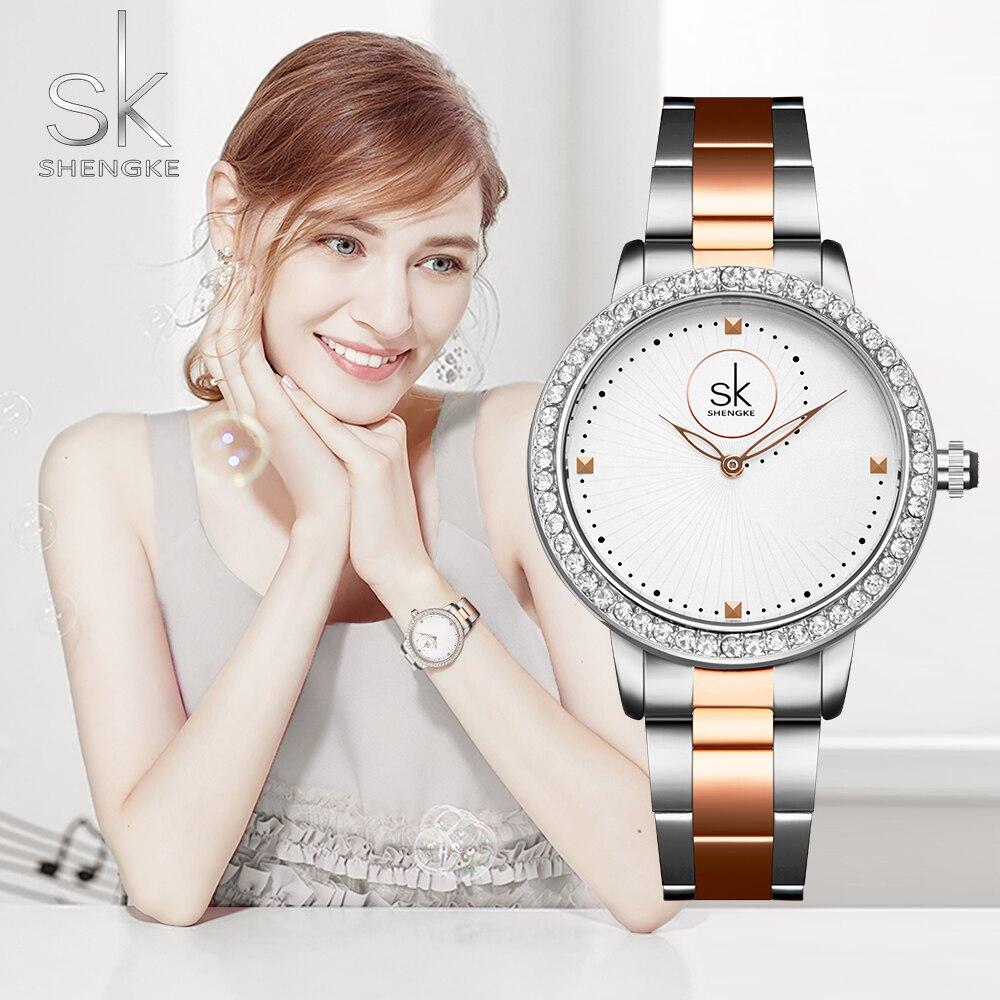 Women Watches Women Fashion Watch 2019 Geneva Designer Ladies Watch Luxury Diamond Quartz RoseGold Wrist Watch Gifts For Women