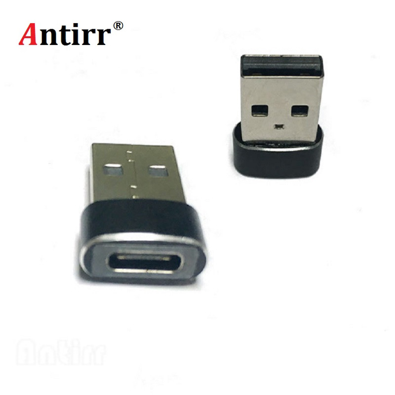 USB 3.0 Male To USB 3.1 Type-C Female Data Charge Converter Mini ITX Desktop USB3.0 Type A To USB-C Female Port OTG Adapter