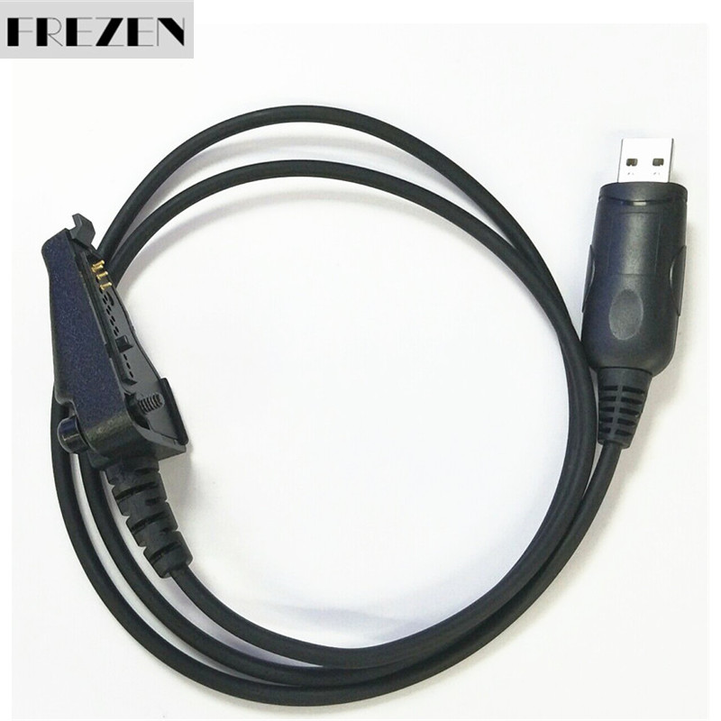 USB Programming Cable For Kenwood Radio TK2140 TK3140 TK3180 TK385 TK-290 RPC-K3-U (Black)