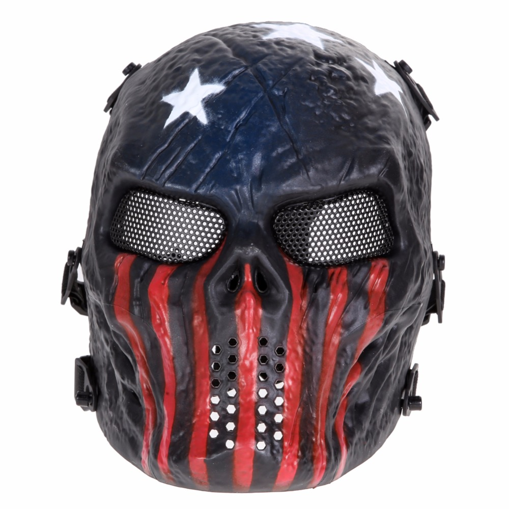Popular Airsoft Full Face Mask-Buy Cheap Airsoft Full Face Mask ...