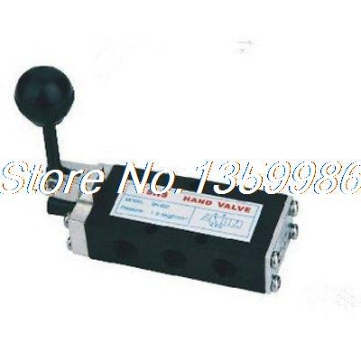 1x 5 ports 2 positions 1/4 BSP Hand Draw Air Valve Self Return SH-402A pneumatic 3 positions 4 ports air hand switching valve page 5