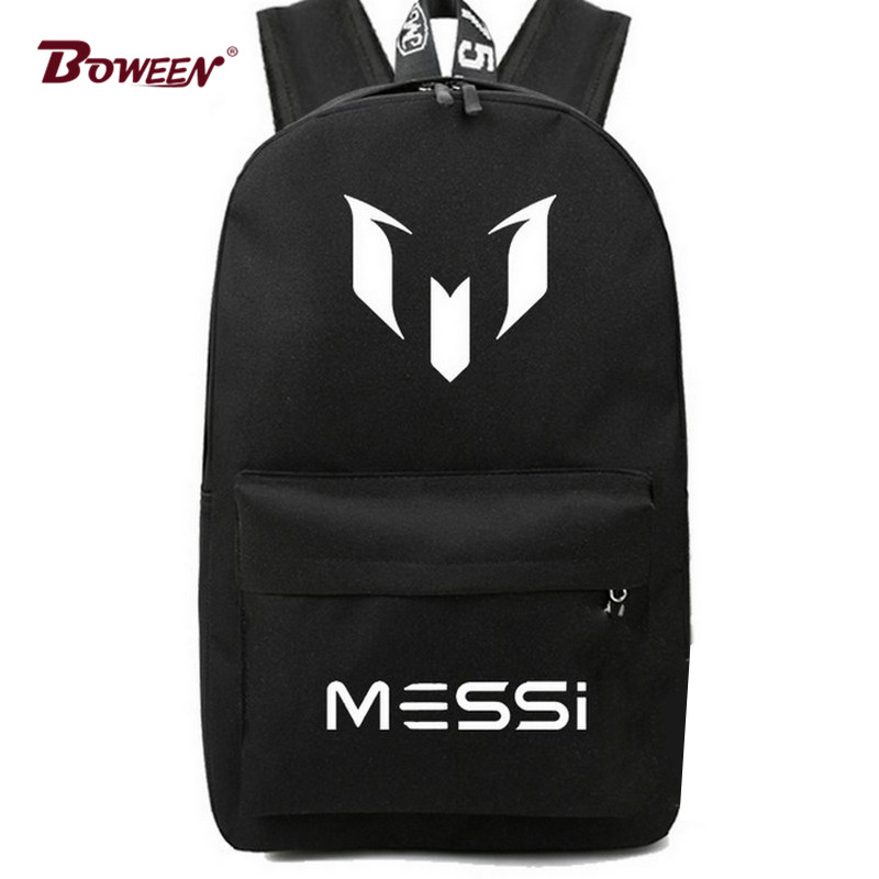 Bag Messi Backpack Footbal Bag men Boys Travel Gift Kids School Training Fashion