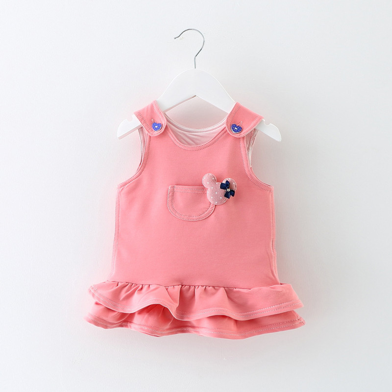 167a5069566d Wholesale 5pcs lot Baby Girl Dress 0-2Y Newborn Cute Baby Embroidery ...