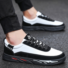 Spring casual mens shoes 2019 new tide summer breathable white Korean trend