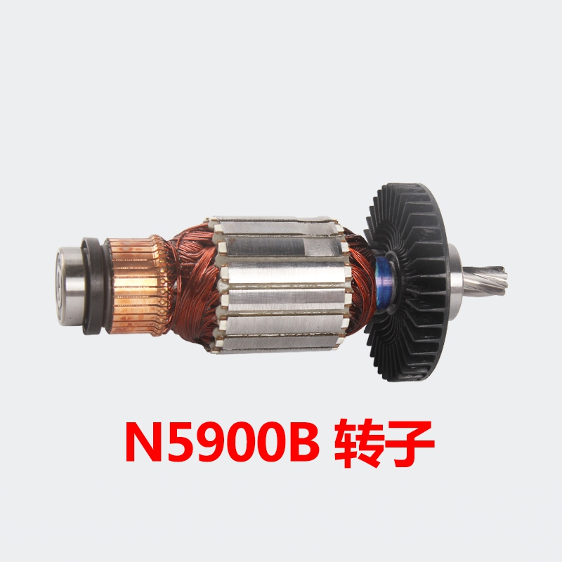 Grinder Rotor Stator for N5900B Original accessories 518717-6 rotor rechargeable impact wrench accessories for makita dtw450rfe stator bearing chassis handle switch gear shell carbon brush