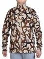 Men's 100% Merino Wool Camouflage Labrador Heavyweight Full Zip Sweater Top Jacket One Layer Coat Outwear Open Stitch Thermal