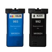 (2Pcs /lot )Excellent products!!!!Remanufactured ink cartridge for DELLMK992 DELLMK993 use for DELL 926 V305(China)