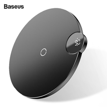 Baseus LED Display Qi Wireless Charger For iPhone 11 Pro Max