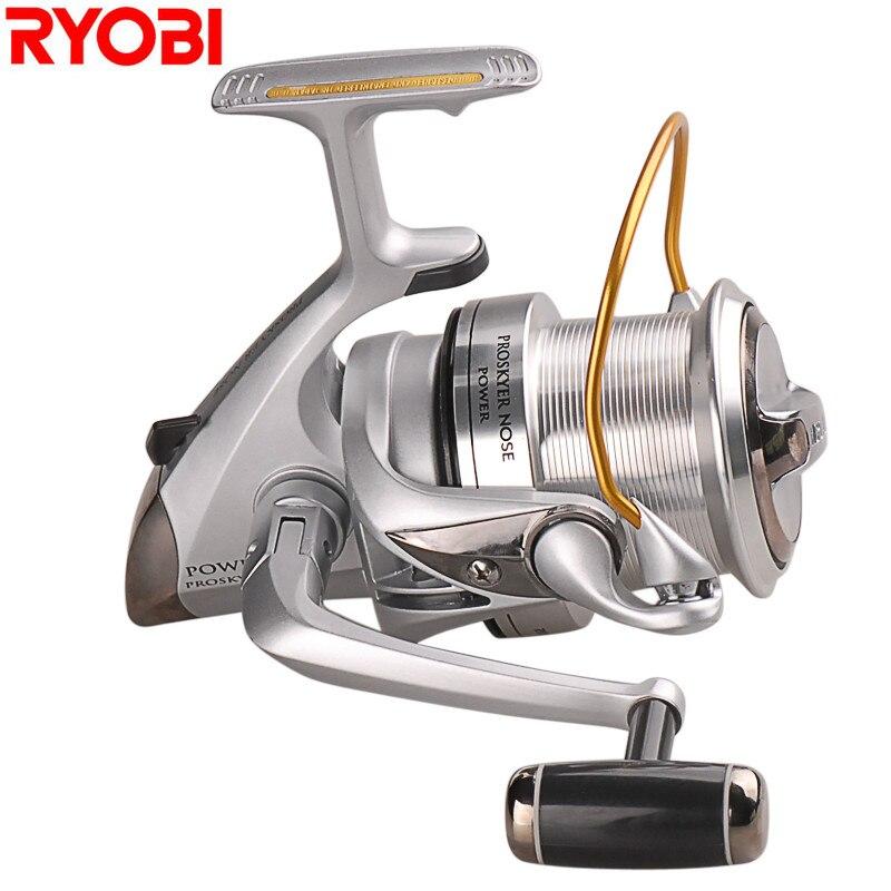 RYOBI Spinning Fishing Reels 3 9 1 5BB Metal Saltwater Carp Fishing Reel Proskyer Nose Carrete