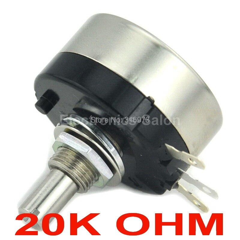 RV30YN 20S B203 COSMOS TOCOS 20K OHM Industrial Panel Controls Rotary Potentiometer. ...