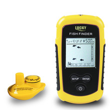 Lucky Sonda Sonar Inalámbrico Buscador de Los Pescados Pesca Submarina Cámara Sonda Para Detector de Radar Más Profundidad Fishfinder FFW1108-1