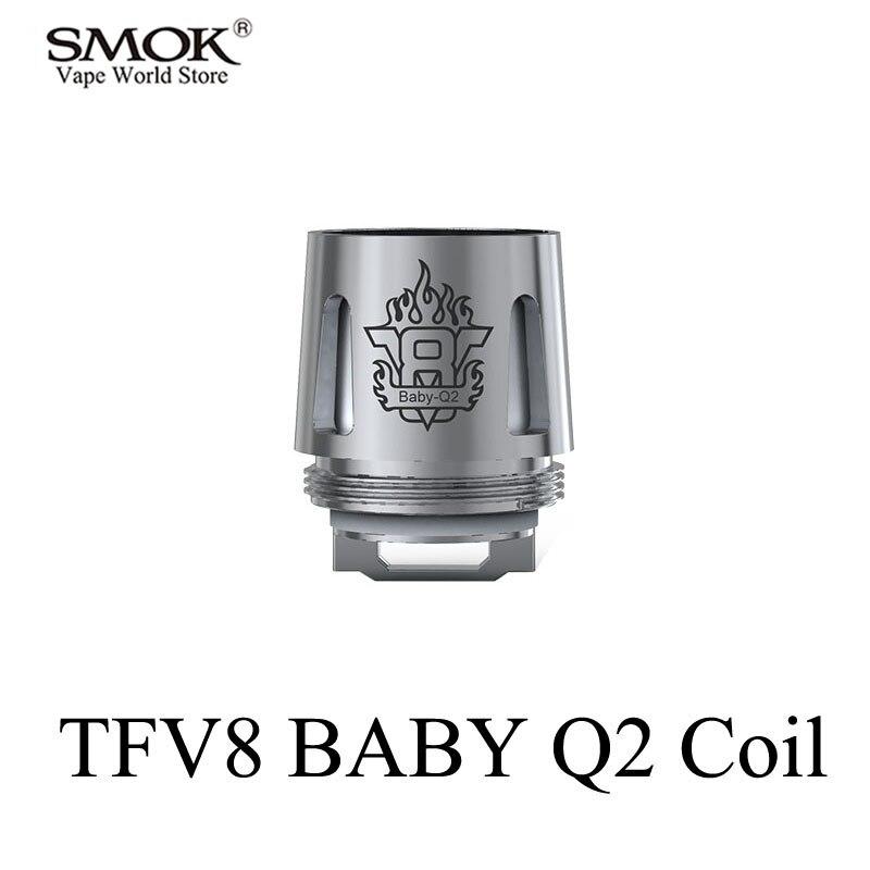 SMOK TFV8 BABY Coil Electronic Cigarette Core Q2 Coil Alien G150 G320 G-Priv Al85 GX2/4 T-Priv Stick V8 Big BABY Core S183