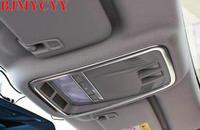 BJMYCYY Car Styling 2pcs Car Front Rear Reading Lights Frame Sequins For Chevrolet Cruze 2017 Car