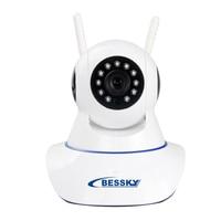 BESSKY HD 720P Wireless IP Camera Smart CCTV Security Camera P2P Network Baby Monitor Home Surveillance Wifi Camera Two-wayAudio