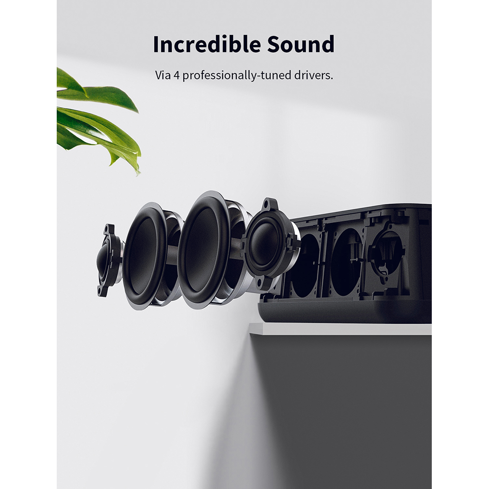anker soundcore pro+ 25w premium portable wireless bluetooth speaker with superior bass and high definition sound