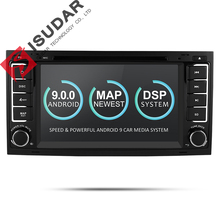 Isudar Car Multimedia player Android 9 GPS 7 Pollici 2 Din Autoradio Per VW/Volkswagen/Touareg Canbus Wifi FM Radio USB DVR