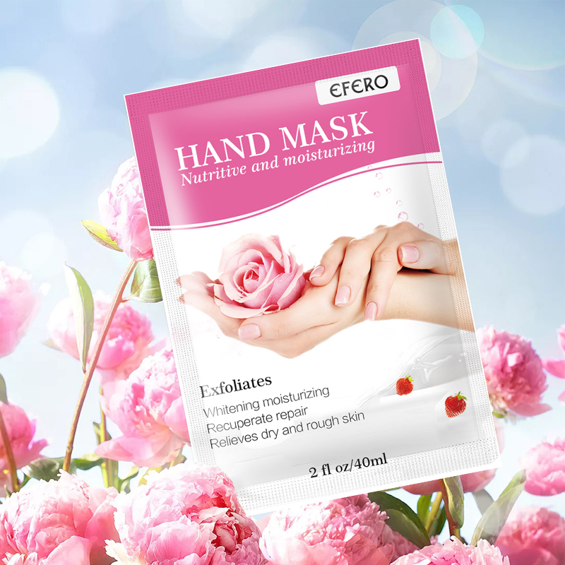3pair=6pcs Hand Care Exfoliating Hand Mask Moisturizing Whitening Skin Care Exfoliating Hand Mask Anti-Wrinkle Aging Spa Gloves 5