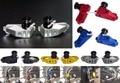 Motocicleta Braço Oscilante Em Alumínio Swing Arm Spool Slider Adaptadores de Montagem Para 2013 2014 2015 2016 honda cb500f cb 500f cb 500 f pc45
