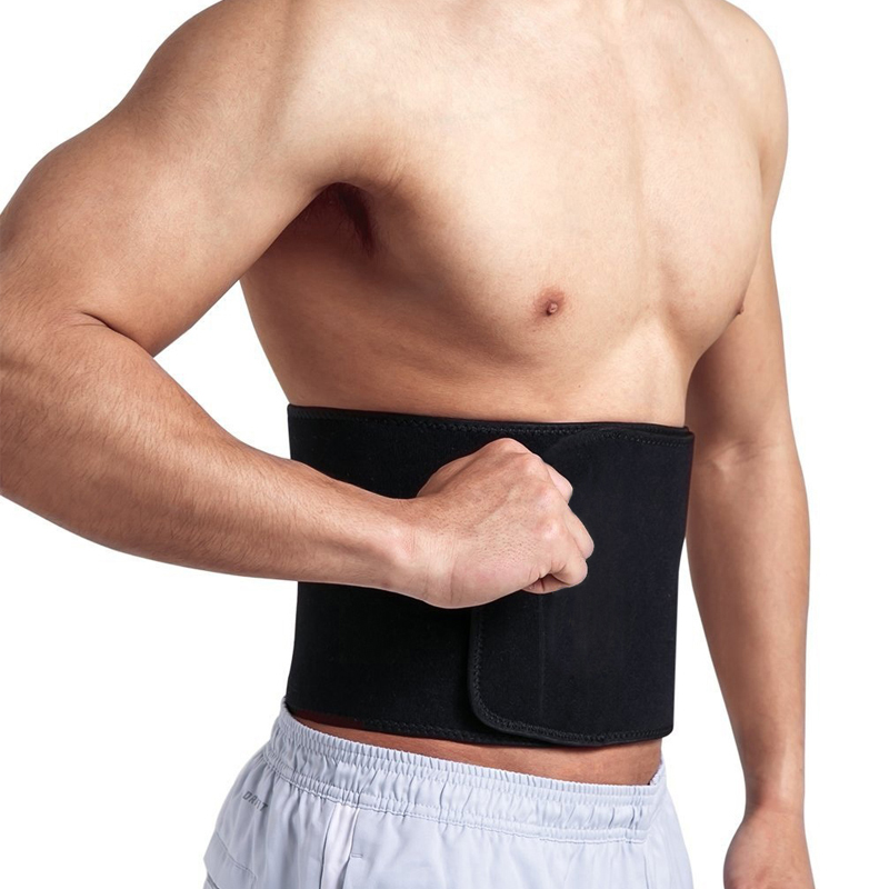 NINGMI Mens Slimming Waist Belt Trainer Hot Thermal Neoprene Body Shaper Strap Tummy Trimmer Males Slim Pulling Underwear Corset
