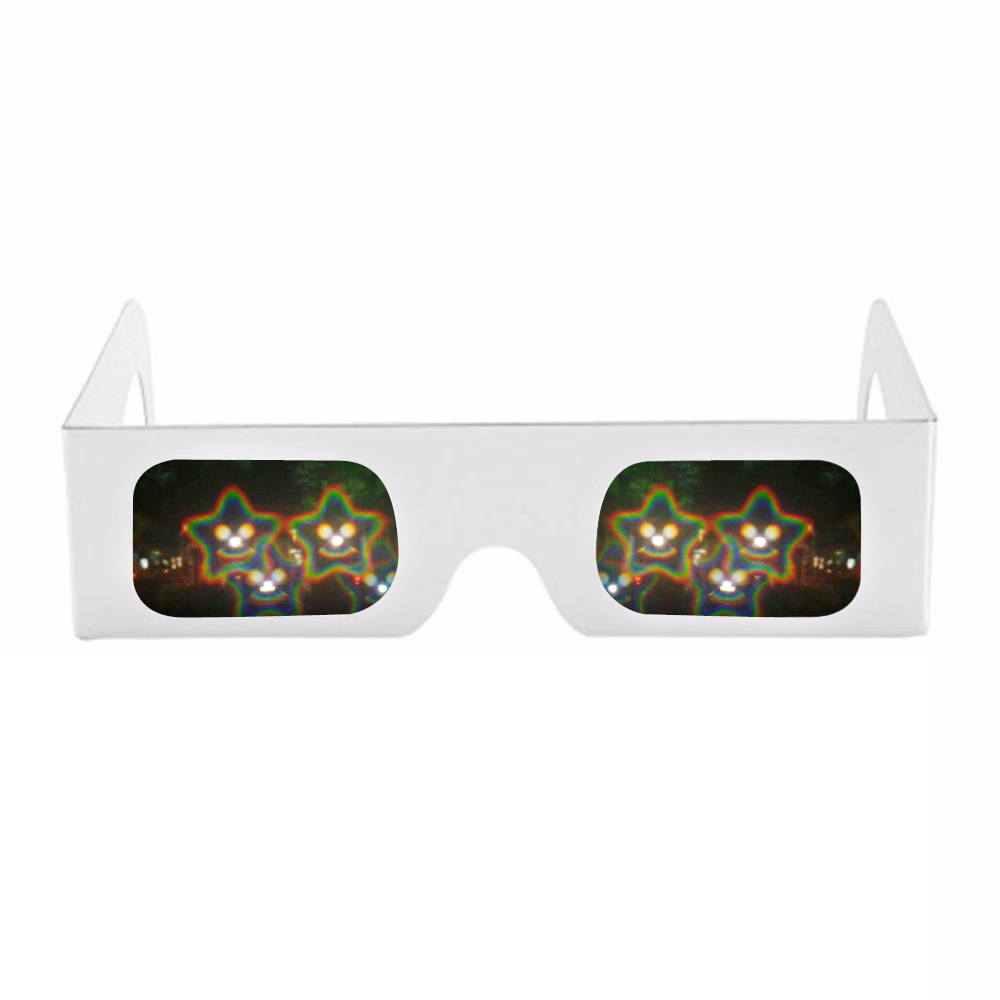 Logisch 50x Goedkope Papier Frame Spiralen/13500 Lijnen 3d Diffractie Regenboog Roosters Glazen Voor Vuurwerk Edm Rave Prisma Laser Toont