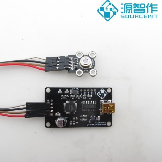 Non Contact Object Surface, Infrared Temperature Measurement, Infrared Measurement Temperature Module, USB Communication testo 550 1 refrigeration manifold kit 0563 5505 with 1 clamp probe surface temperature measurement