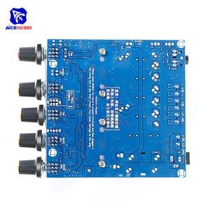 Image 2 - Tpa3116 2.1 placa de amplificador de áudio dc 12 24 v módulo amplificador subwoofer de alta fidelidade digital super baixo alto falante 50 w + 50 w + 100 w