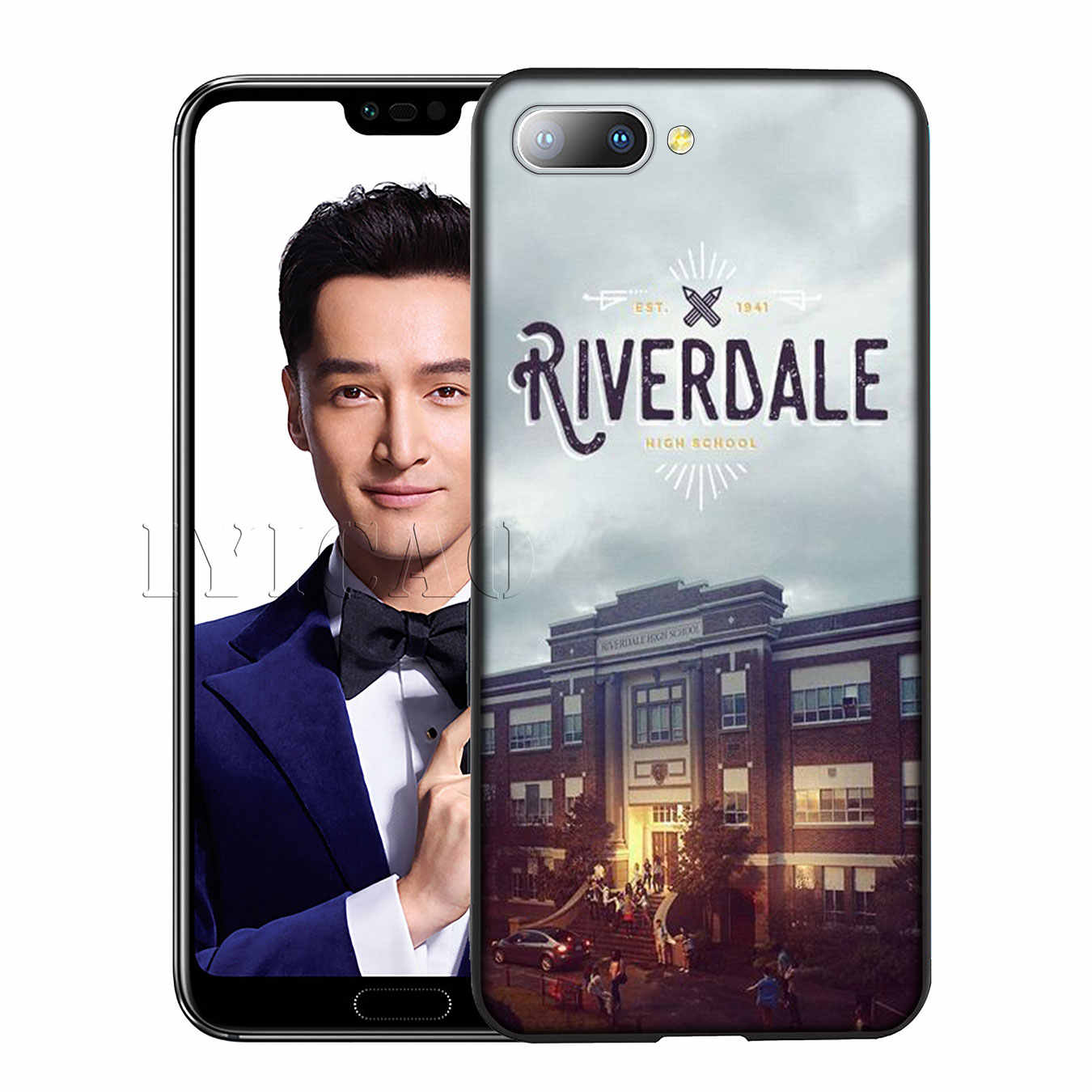 IYICAO Riverdale South Side Serpents Silicone Soft Case for Huawei Y7 Y6 Prime Y9 2018 Honor 8C 8X 8 9 10 Lite 6A 7C 7X 7A Pro