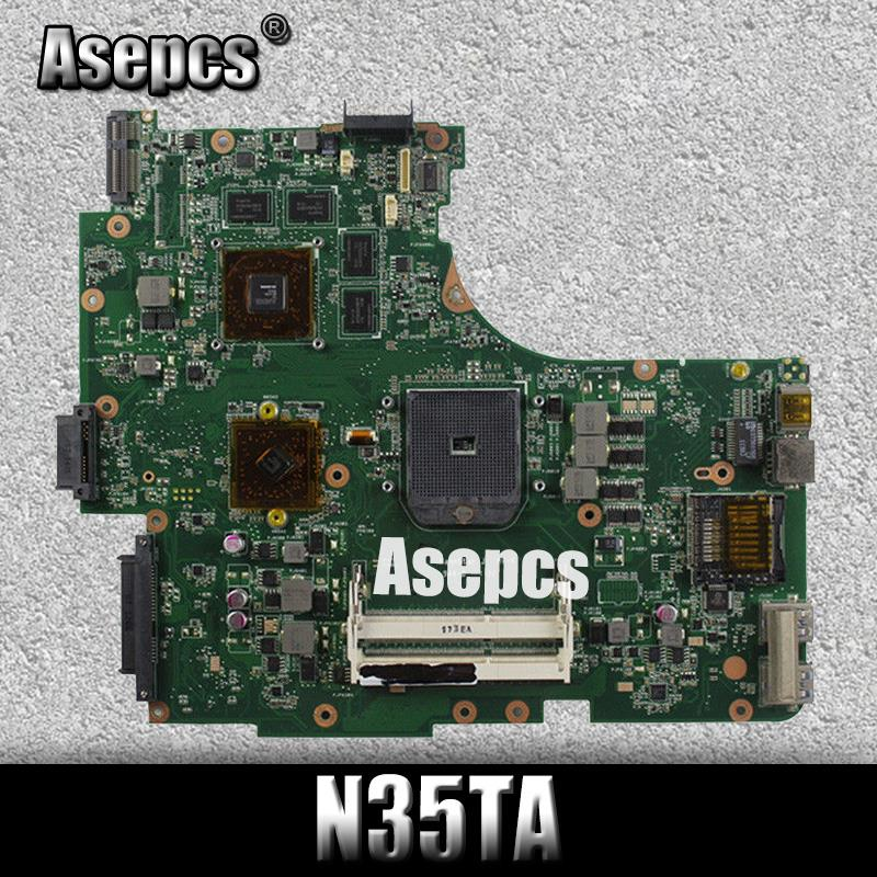Akemy N53TA Laptop motherboard for ASUS N53TA N53TK N53T N53 Test original mainboard