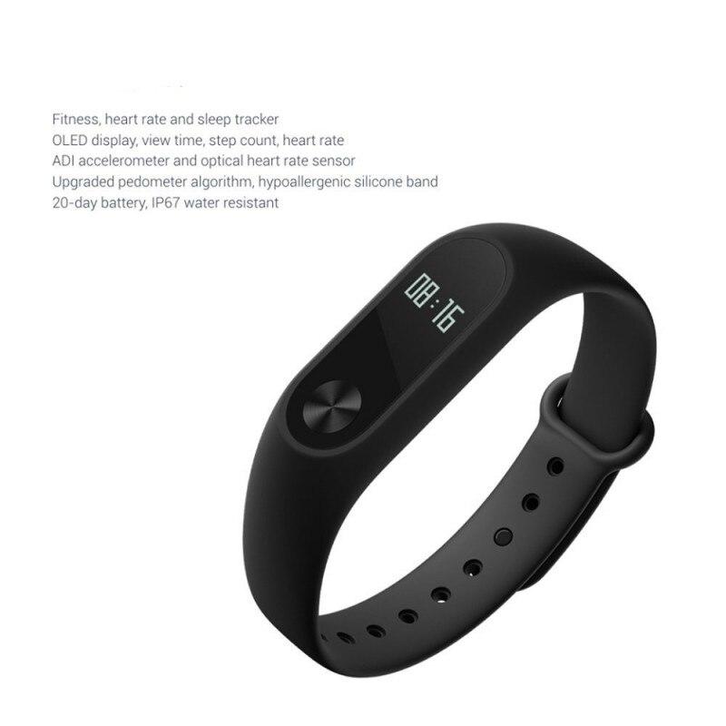 imágenes para Nuevo Bluetooth M2 Inteligente Pulsera Banda de Pulsera Pulsómetro Impermeable IP67 Inteligente Para xiaomi Android IOS iPhone