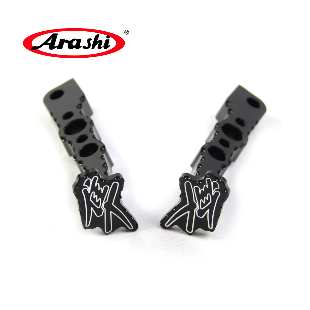 Arashi For SUZUKI GSXR1300 2008 2017 Rear Foot Pegs HAYABUSA GSX1300R GSX R GSXR 1300 08