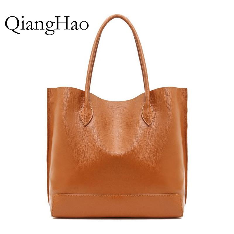 Europe Style Shoulder font b Bag b font Retro Women Handbag High Capacity Simple Style Totes