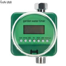 Garden watering timer rainwater induction automatic electronic water home garden irrigation controller system