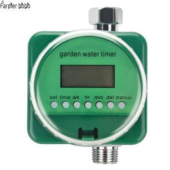Podlewanie ogrodu zegar deszczowy indukcyjny automatyczny elektroniczny wodomierz domowy nawadnianie ogrodu wyłącznikiem czasowym tanie i dobre opinie Farmer bobo Ac pro Z tworzywa sztucznego Ogród wodny timery Smart Rain Sensor 18 sets of programmable timing Can be used outdoors