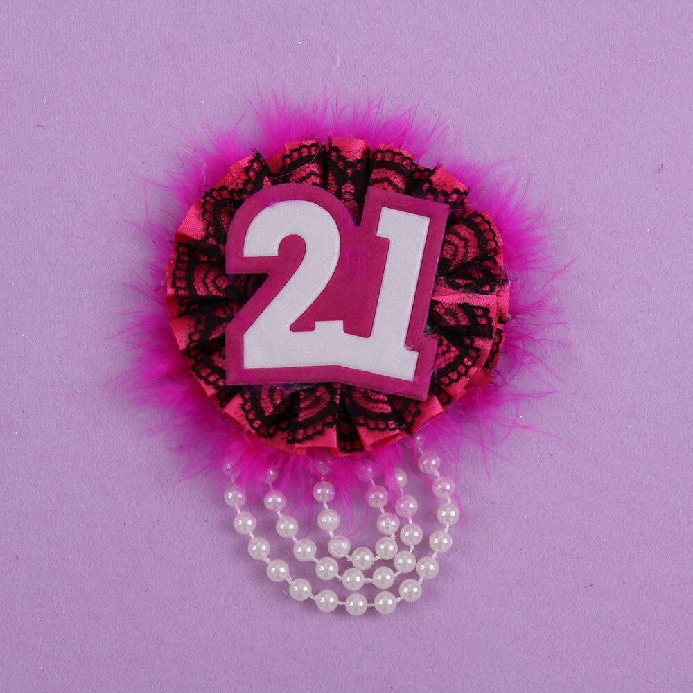 12 unids evento Fiesta suministros pluma perla broche Bady ducha ...