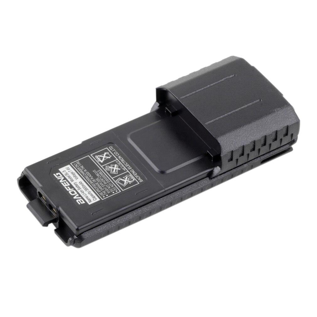 Batterie étendue 3800 mAh Li-ion pour BaoFeng UV-5R Pofung BL-5 3800 mAh 7.4 V Li-ion Étendue Batterie pour UV-5R Radio