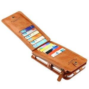 Image 5 - מקרה טלפון עבור iphone 12 מיני 11 פרו מקס Xs xr 5 c 6 s se 2020 7 8 בתוספת תליית מותניים coque עור ארנק טלפון מעטפת כיסוי תיק