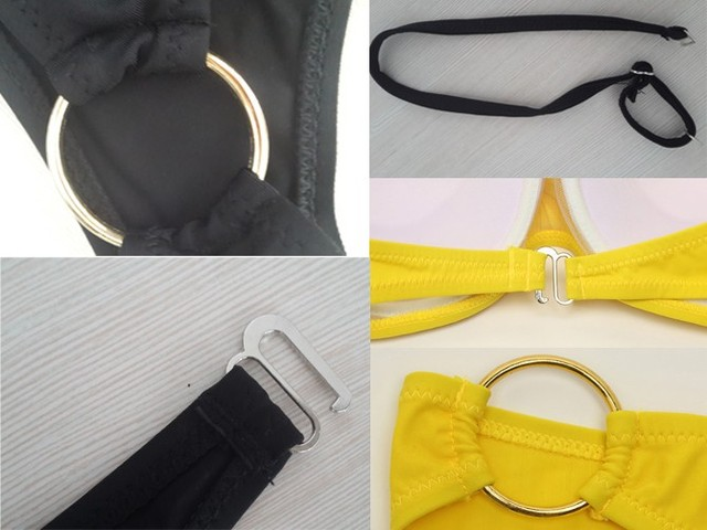 Strapless 2 Piece Beach Swimming Suit 10