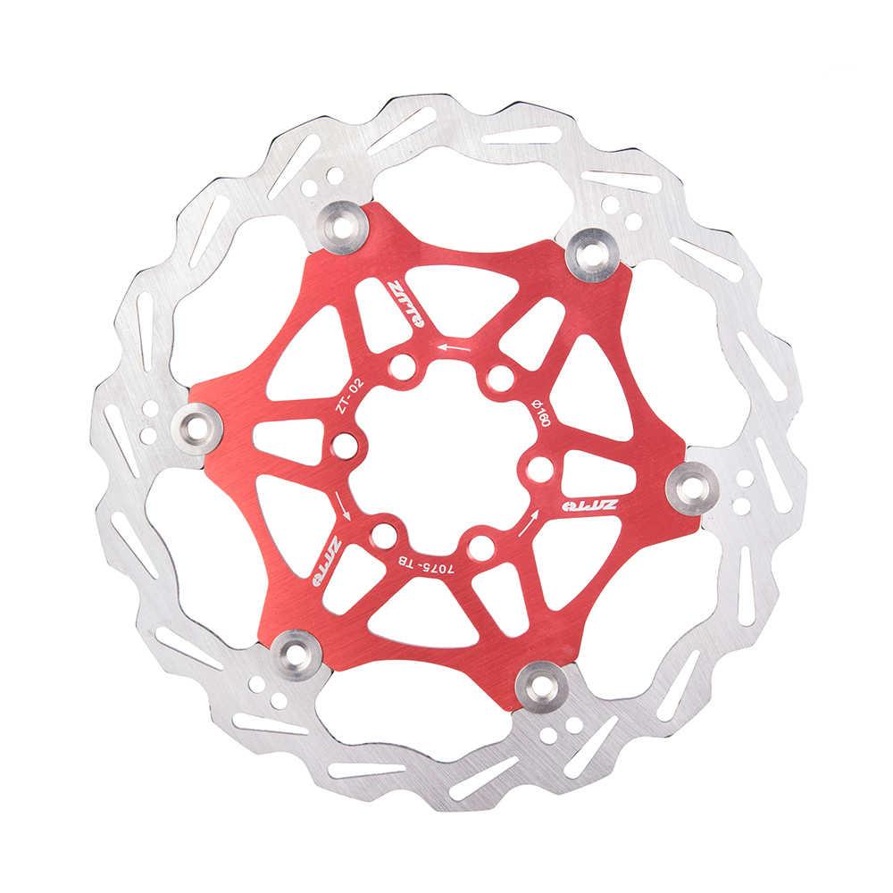 ZTTO 180mm 160mm frein flottant Rotor 7075 AL acier inoxydable 6 7 pouces disque pour montagne route CX vélo pièces de vélo