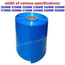 1M Lithium Batterij Polymeer Batterij Pvc Krimpkous Batterij Huid Warmte Krimpfolie Batterij Verpakking Isolatie Film