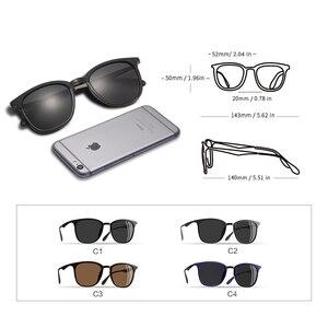 Image 4 - AOFLY Gafas de sol polarizadas Vintage para hombre y mujer, lentes de sol unisex de diseño de marca, adecuadas para conducir, de aleación, AF8120