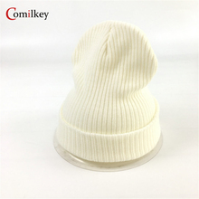 цена на Solid Color Bonnet Hats For Women Gorro Fashion Knitted Beanie Caps Beanies for Winter Hat Skullies balaclava For Men