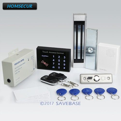 HOMSECUR Remote Controlled RFID Door Lock Access Control System With 180kg Magnetic Lock все цены