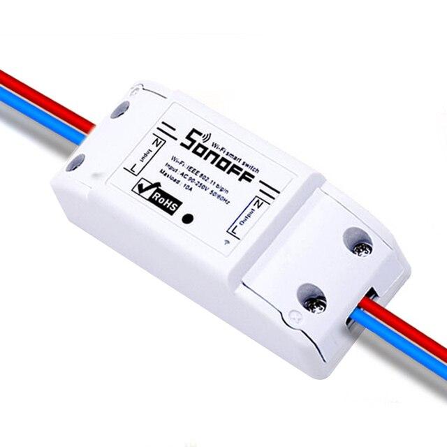 Sonoff ITEAD Wifi Chuyển Đổi, Thông Minh tự động hóa Nhà Điều Khiển Chuyển Đổi, Chuyển Đổi Không Dây Wifi Chuyển Đổi Tương Thích với Google Nhà Alexa