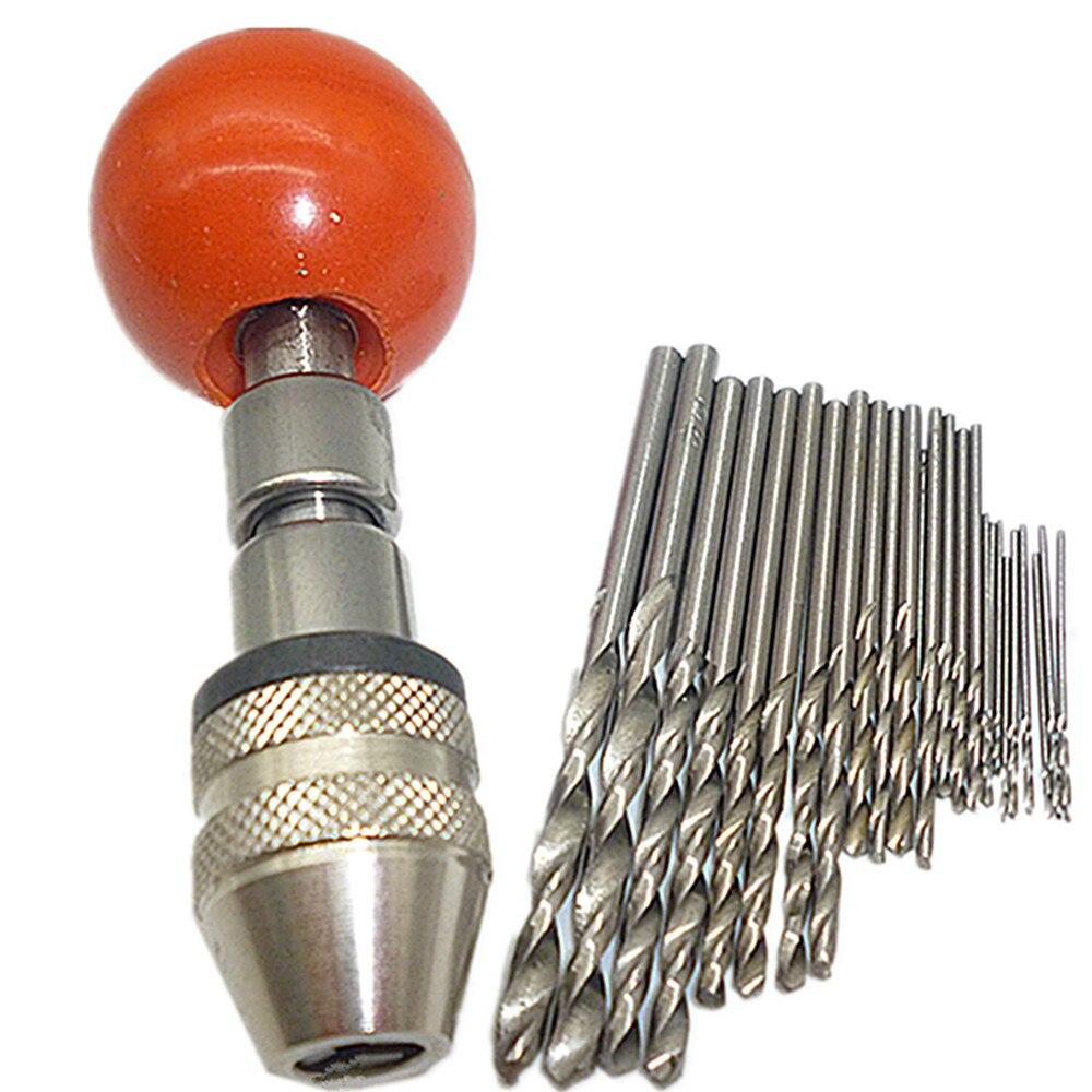 10Pcs Micro HSS 0.3-3mm Straight Shank Twist Drilling Bits Sets Tiny Durab H Wy