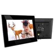 7 дюймов цифровая фоторамка(фото слайд-шоу, музыка, воспроизведение видео, Встроенные динамики, календарь, часы реального времени, пульт