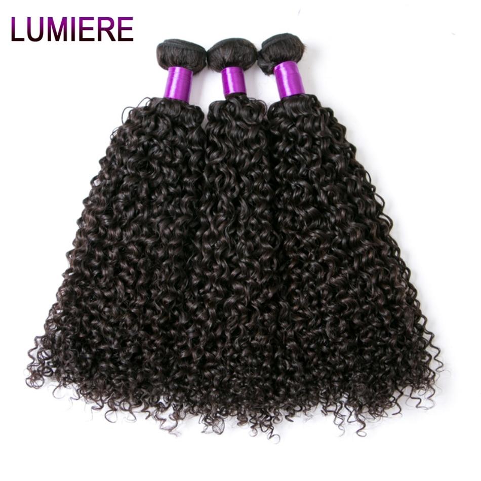 Afro Kinky Curly Hair Malaysian Curly Hair Bundles Lumiere Hair Malaysian Kinky Curly 3  ...