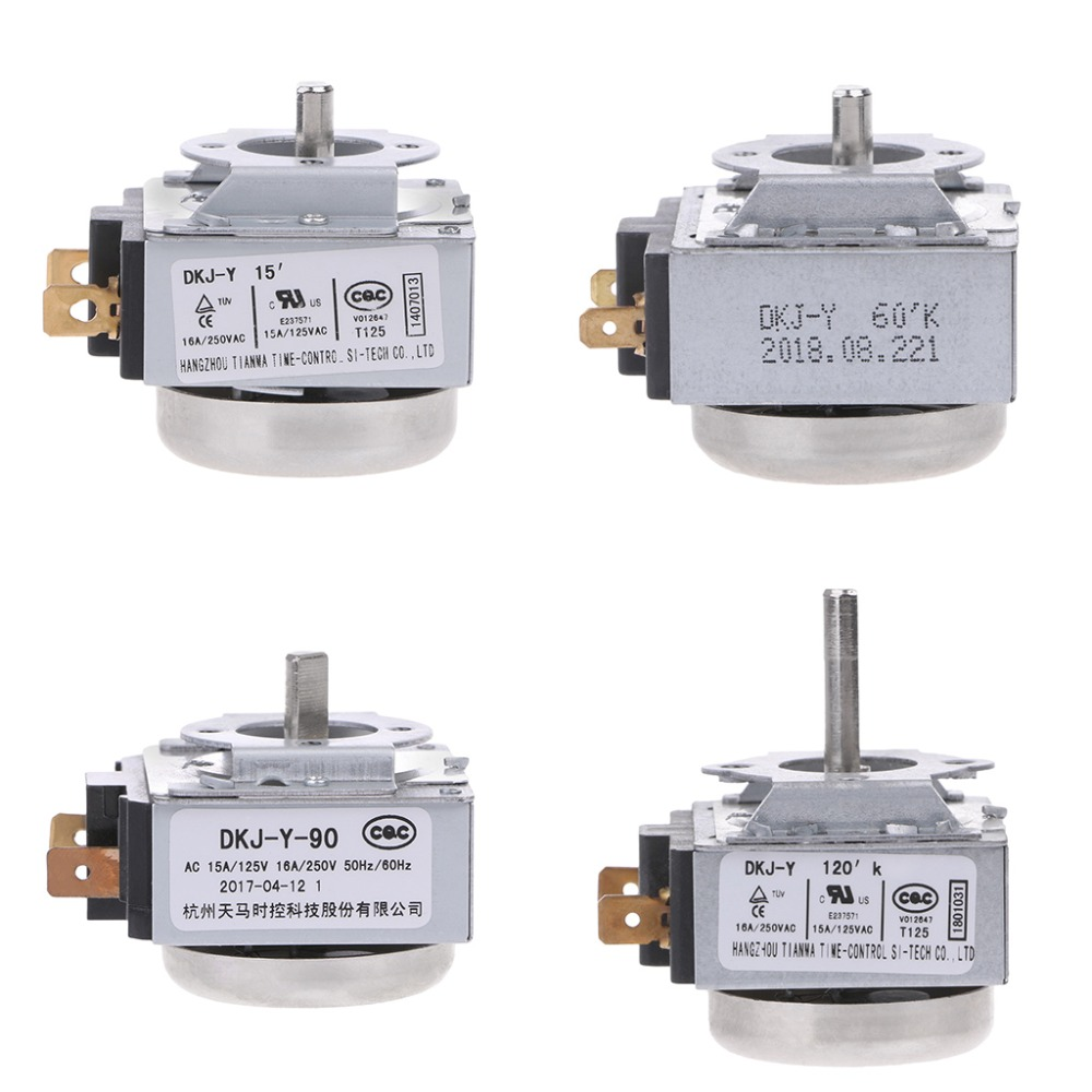 1PC Iron Delay Timer Switch 15min/60min/90min/120min AC 125V 15A AC 250V 16A 50Hz/60Hz For Electric Pressure Oven Cooker